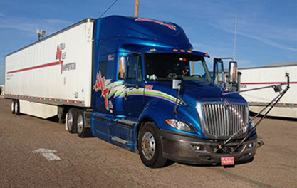 Improving truck fuel efficiency for Mesilla Valley Transportation